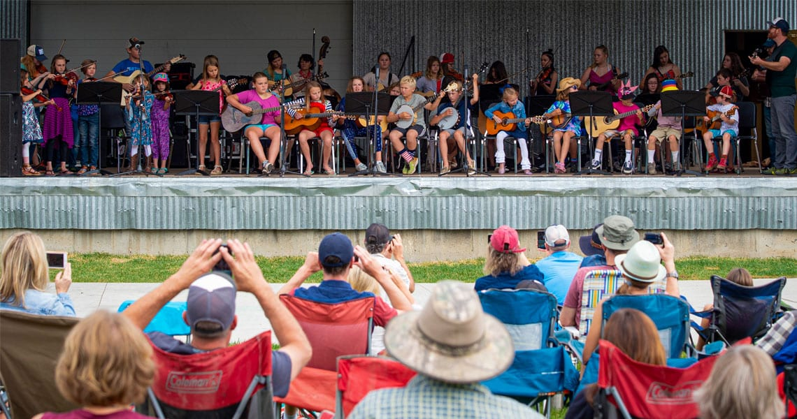 kids go free crested butte music festival