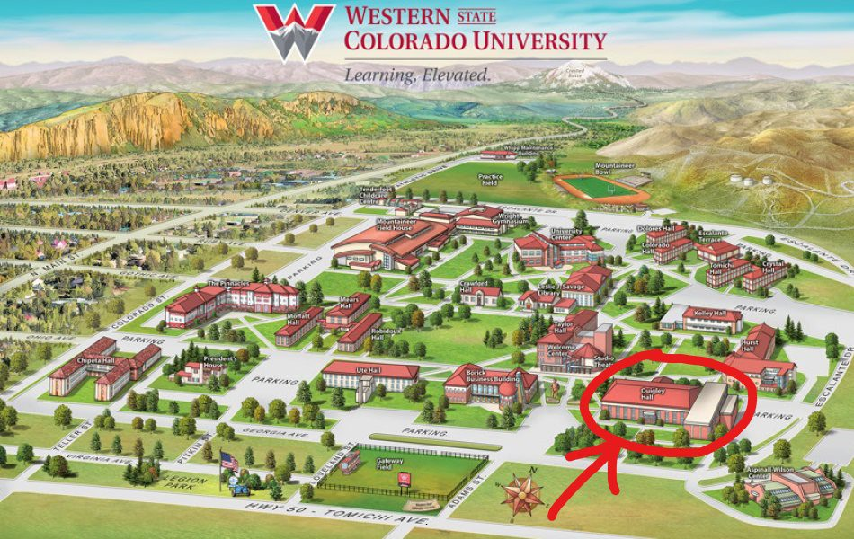 Quigley Hall map